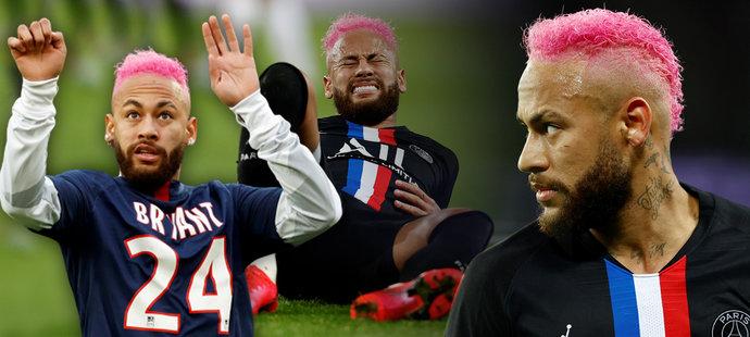 Neymar v ružovom. Ďalšie zranenia k narodeninám a žúr aj po ňom